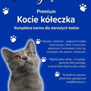 Koci przysmak - mieszanka kształtów