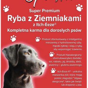 Super Premium dla dorosłych psów - ryba z ziemniakami i suplementem diety Itch-Eeze®